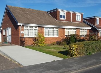 Thumbnail 2 bed semi-detached bungalow for sale in Constable Close, Sproatley, Hull