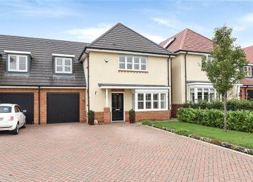 Thumbnail 4 bed link-detached house for sale in Burbridge Road, Leavesden, Watford