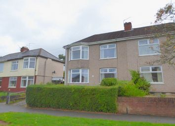 Thumbnail 3 bed semi-detached house for sale in Cornwall Road, Newport, Newport