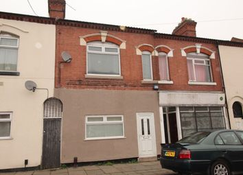 Thumbnail 3 bedroom terraced house to rent in Beatrice Road, Leicester
