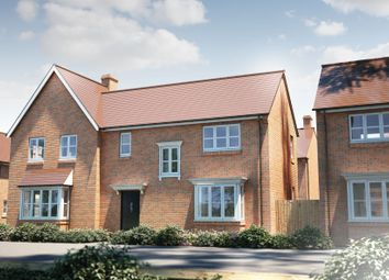 "Thumbnail 3 bed semi-detached house for sale in ""The Longthorpe"" at Bishopsfield Road, Fareham"