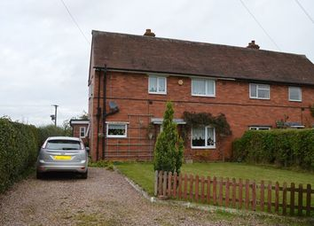 Thumbnail 3 bed semi-detached house for sale in Brookfields, Longford Turning, Market Drayton