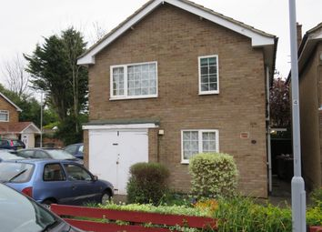 Thumbnail 3 bed detached house for sale in Newbury Close, Luton
