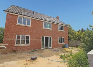 Thumbnail 4 bed detached house for sale in Tuns Road, Necton, Swaffham