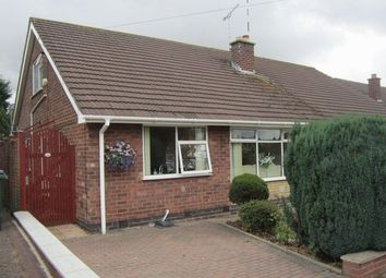 Thumbnail 2 bed semi-detached bungalow for sale in Postbridge Road, Styvechale, Coventry
