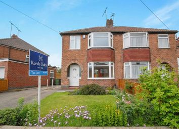 Thumbnail 3 bed semi-detached house to rent in Howe Hill Road, York