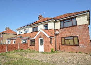 Thumbnail 4 bed semi-detached house for sale in Crostwick Lane, Spixworth, Norfolk