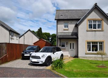 Thumbnail 3 bed detached house for sale in Waukmill Drive, Blackford, Auchterarder