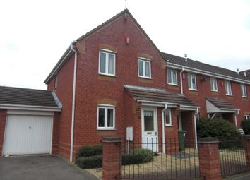 Thumbnail 3 bed end terrace house to rent in Desdemona Avenue, Heathcote, Warwick