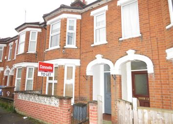 Thumbnail 3 bed terraced house to rent in Springfield Lane, Ipswich