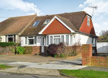 Thumbnail 3 bed bungalow for sale in Eley Drive, Rottingdean, Brighton