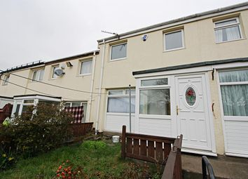 Thumbnail 3 bed terraced house to rent in Earsdon Close, Newcastle Upon Tyne