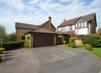 Thumbnail 5 bed detached house for sale in Heron Drive, Bicester