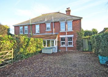 Thumbnail 3 bed semi-detached house for sale in Bashley Common Road, Bashley, New Milton