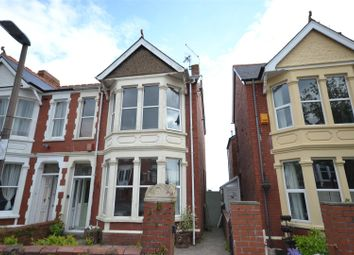 Thumbnail 4 bed semi-detached house for sale in Somerset Road, Barry