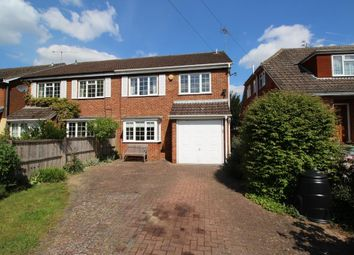 Thumbnail 4 bedroom semi-detached house for sale in St. Marys Avenue, Purley On Thames, Reading