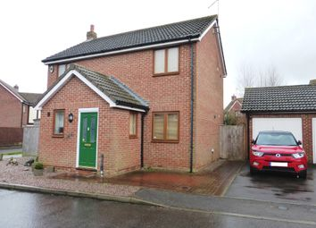 Thumbnail 3 bedroom detached house for sale in Crown Close, March