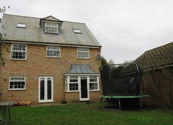 Thumbnail 5 bed detached house for sale in Kingsline Close, Thorney, Peterborough
