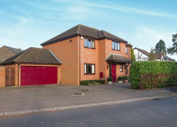 Thumbnail 4 bed detached house for sale in Mill Lane, Sandy