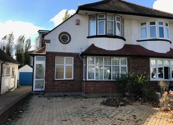 Thumbnail 4 bed semi-detached house to rent in Widmore Lodge Road, Bickley, Bromley