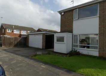Thumbnail 2 bed semi-detached house for sale in Plumtree Way, Syston, Leicester, Leicestershire