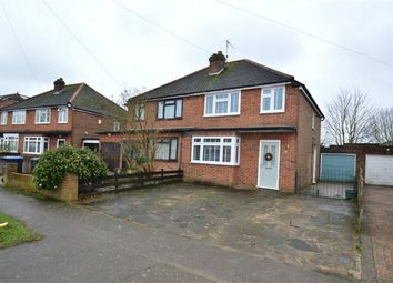 Thumbnail 3 bed semi-detached house for sale in Crawford Road, Hatfield, Hertfordshire