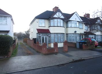Thumbnail 3 bed semi-detached house to rent in Winchester Avenue, Kingsbury London