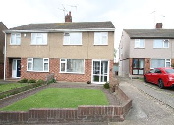 Thumbnail 3 bed semi-detached house for sale in Clarkebourne Drive, Grays