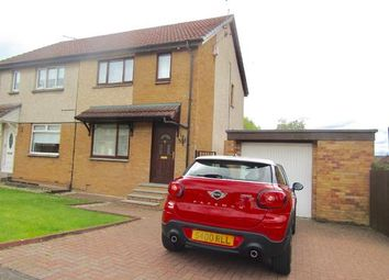 Thumbnail 2 bed semi-detached house to rent in Strathview Road, Bellshill