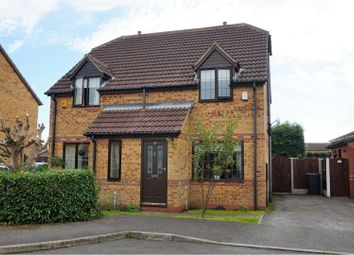 Thumbnail 2 bedroom semi-detached house for sale in Ridgeway Avenue, Bolsover, Chesterfield