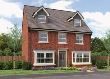 """Thumbnail 5 bedroom detached house for sale in """"The Huxley"""" at Otley Road, Killinghall, Harrogate"""