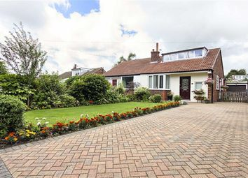 Thumbnail 3 bed semi-detached bungalow for sale in Chapletown Road, Bromley Cross, Bolton