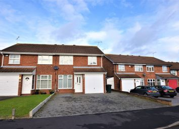 Thumbnail 3 bedroom semi-detached house for sale in Levan Way, Walsgrave, Coventry