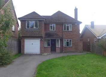 Thumbnail 4 bed detached house to rent in Moses Plat Lane, Speen