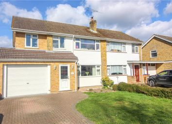 Thumbnail 4 bed semi-detached house for sale in Ives Close, Yateley, Hampshire