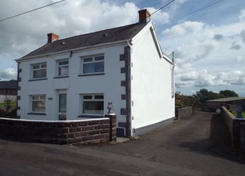 Thumbnail 4 bed detached house for sale in Maesglas Road, Penygroes, Llanelli