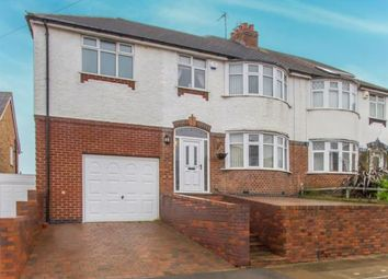 Thumbnail 4 bed semi-detached house for sale in Marsden Lane, Old Aylestone, Leicester, Leicestershire