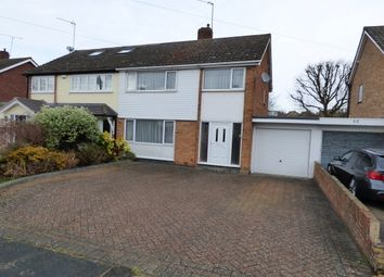 Thumbnail 3 bed semi-detached house to rent in Ian Road, Billericay