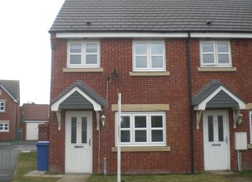 Thumbnail 2 bed end terrace house to rent in Ladyburn Way, Hadston, Morpeth