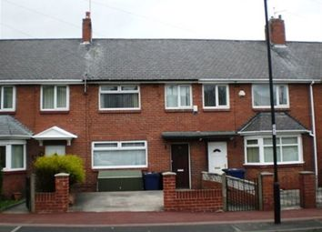 Thumbnail 3 bedroom terraced house to rent in Weldon Crescent, High Heaton, Newcastle Upon Tyne