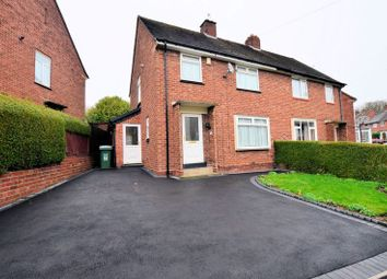 Thumbnail 3 bed semi-detached house for sale in Hales Crescent, Bearwood, Smethwick