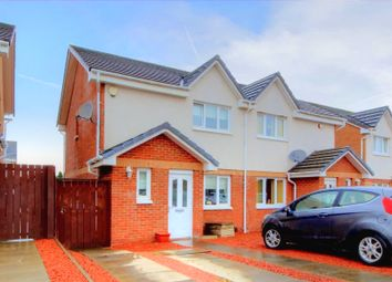 Thumbnail 3 bed semi-detached house for sale in Anford Gardens, Blantyre, Glasgow