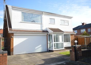 Thumbnail 4 bed detached house for sale in Taybank Avenue, Blackpool