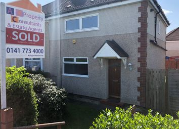 Thumbnail 3 bed semi-detached house for sale in Glen Avenue, Springboig