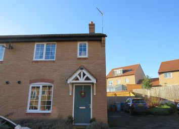 Thumbnail 3 bed end terrace house for sale in Lowick Close, Burton Latimer, Kettering