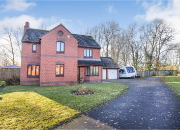 Thumbnail 4 bed detached house for sale in Malvern Way, Newton Aycliffe