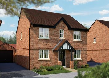 "Thumbnail 4 bed detached house for sale in ""The Buxton"" at Burton Road, Streethay, Lichfield"