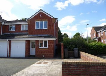 Thumbnail 3 bed semi-detached house to rent in Pericles Close, Heathcote, Warwick