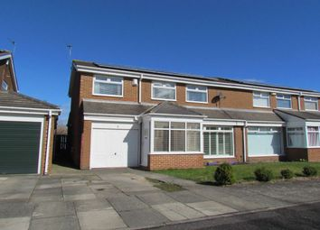 Thumbnail 4 bed semi-detached house for sale in Pembroke Court, Kingston Park, Newcastle Upon Tyne