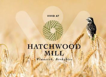 Thumbnail 2 bed flat for sale in Hatchwood Mill, Duffet Drive, Wokingham